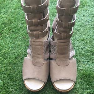 Joanie Gladiator Wedge Sandal